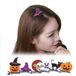 Women Air Clips Cartoon Hairpins Baby Kids Barrettes Hallowe