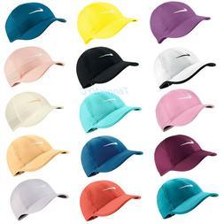 NIKE Women's FeatherLight Tennis Hat Cap Swoosh Dri-Fit Runn