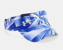 Under Armour Women's UA Fly-By Visor OSFA Blue White Adjusta