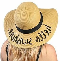 Funky Junque Women's Bold Cursive Embroidered Adjustable