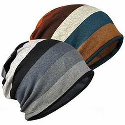 Jemis Womens Cotton Chemo Hat Beanie Scarf - Cap Bandana For